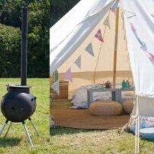 Posh Pitches - Glamping  - Cornwall Luxury camping