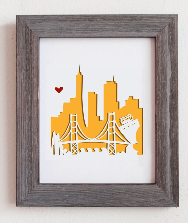 San Francisco, CA.  Personalized Gift