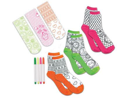 Doodle Socks from BrightMinds