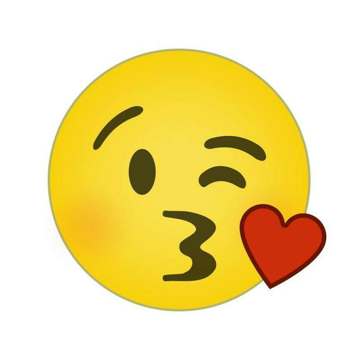 Blowing Kiss Emoticon Animated
