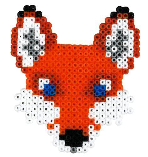 Fox Hama mini beads