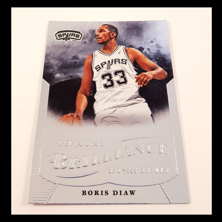 Boris Diaw Basketball Card (2012-13 Panini Brilliance)