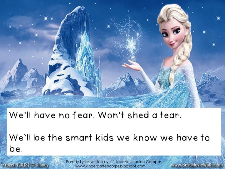 """FREE - Kindergarten Graduation Song - End of the Year Performance - Original parody lyrics written by Janine Campos to the tune of """"Let it Go"""" from Frozen by Disney."""
