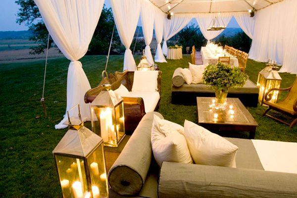 Tent Wedding Decor - Reception Decor   Wedding Planning, Ideas & Etiquette   Bridal Guide Magazine