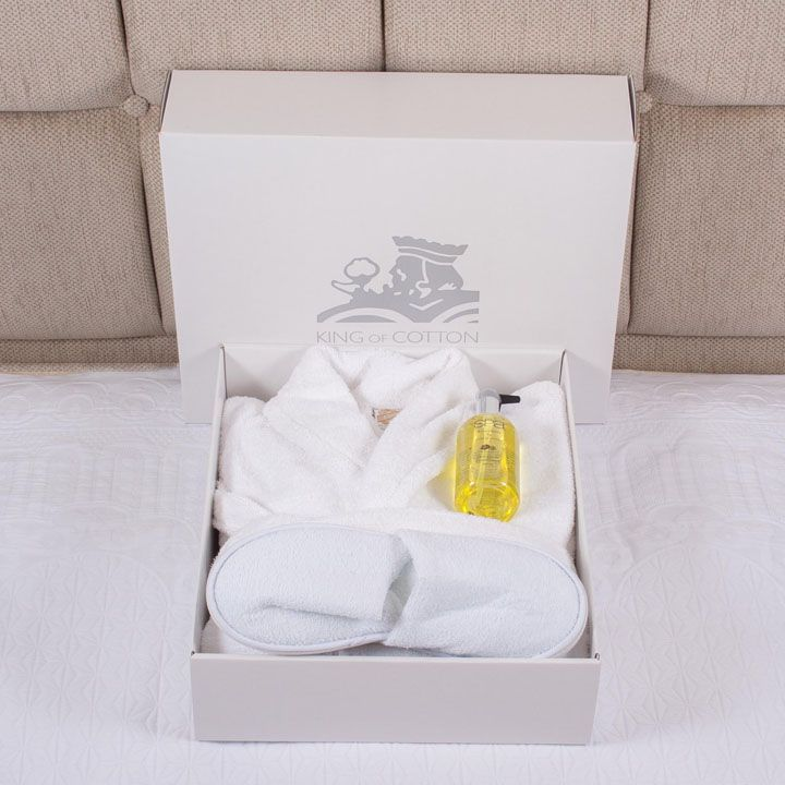 Terry Towelling Robe Gift Set
