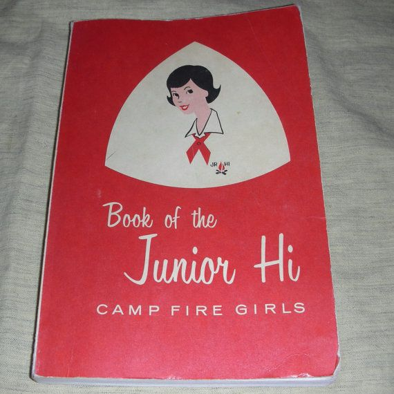 Vintage Camp Fire Girls reference manual.: