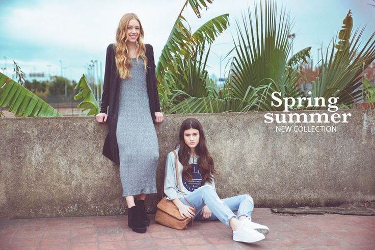 Ready? Here's a sneak peek of our new Spring-Summer Campaign, that you can already find at stores