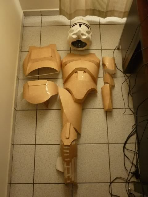 Homemade Clone Trooper Armor (Torso finished on page 9!)