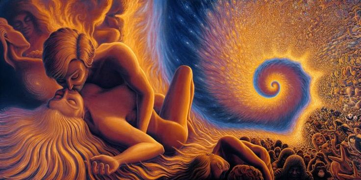When Sexual Intercourse Is An Act Of Exchanging Love, It Becomes Divine