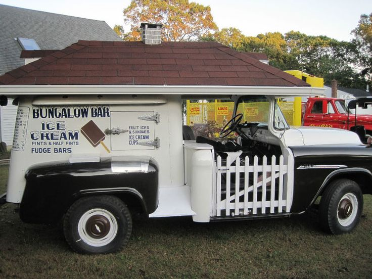 Bungalow bar ice cream 1955 chevy truck remember these in