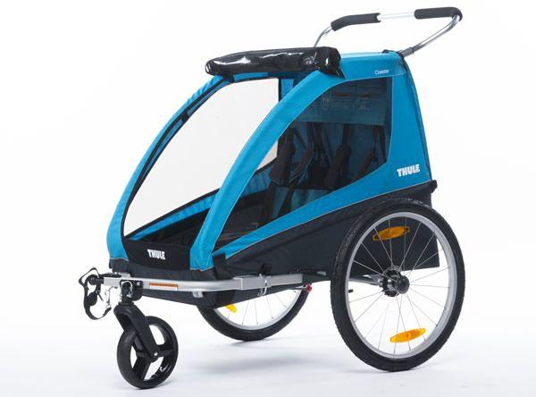 Thule Coaster : Remorque vélo et poussette pour vos enfants