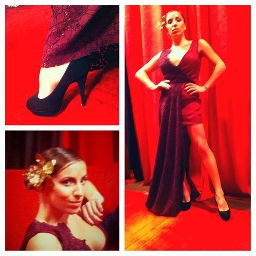 ♡Agradecemos a Georgina Tirotta que lucio #PietroNovelli en gala Tango de #Showmatch2014♡  #Anunziatta #Tendencia #ModaBa