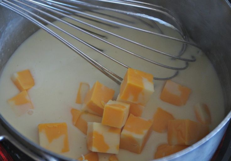 "How to make easy homemade cheese sauce - Another super easy ""make it yourself"" dish. We use this bad boy to drizzle over broccoli, pasta or … well, cheese is good on ANYTHING really! Kids love it… and it takes about 5 minutes to make. Seriously. FIVE minutes!"
