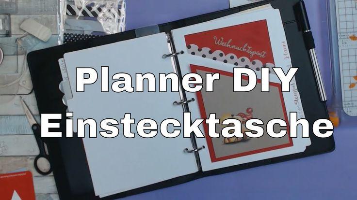 🎀🎀🎀 Selbstgemacht! Aufbewahrungs Tasche für meinen Planner | nach einem ...