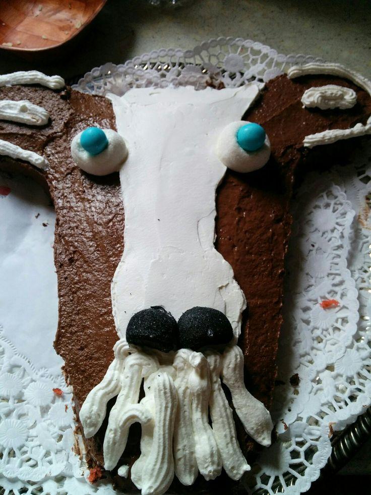 Goat Birthday cake - Dad