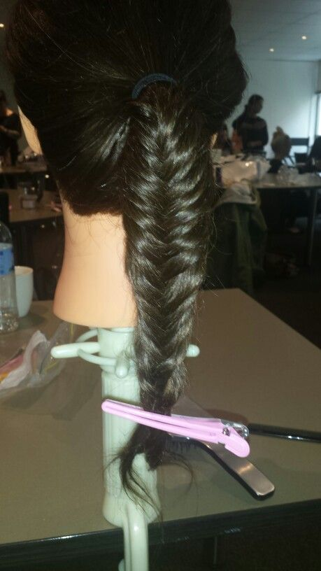 First fish tail braid