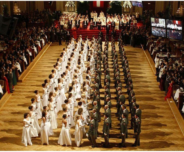 #attendants #austria #ball #ballroom #crowd #dance #dancing #formal #inside #interior #luxurious #men #room #vienna #women