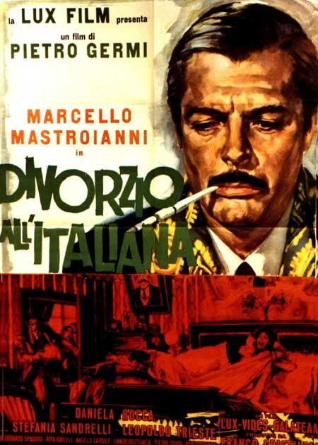 Divorzio all'Italiana-Divorce italian style by Pietro Germi, 1961  Movie#Marcello_Mastroianni
