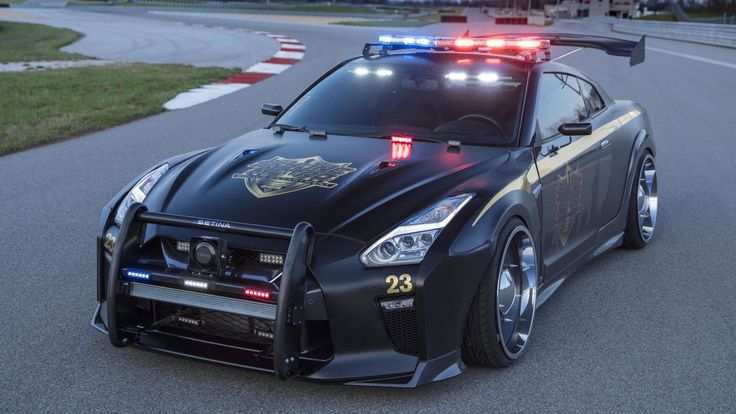 Nissan GT-R Copzilla Police Car Will Catch Any Criminal If you are a felon and you see this Nissan GT-R Copzilla Police car chasing you, do yourself a favor and don't run. Don't even try that, because the 565 hp cop car will get you anyway. This unless you are driving a 1,000 hp McLaren yourself. The police livery has been done for the fictional...