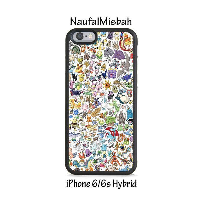 okemon Gotta Catch em All iPhone 6/6s HYBRID Case