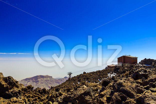 Qdiz Stock Photos Cableway or Funicular on Tenerife Island