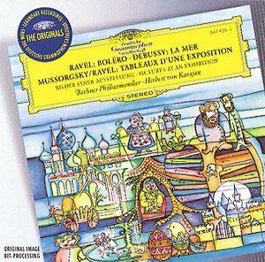 KARAJAN DEBUSSY MUSSORGSKY RAVEL - Deutsche Grammophon