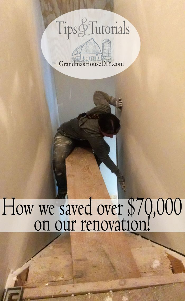 All of the tips and tricks I learned along the way renovating our house to save over 70,000 on the 15 month renovation on our 100 year old home.