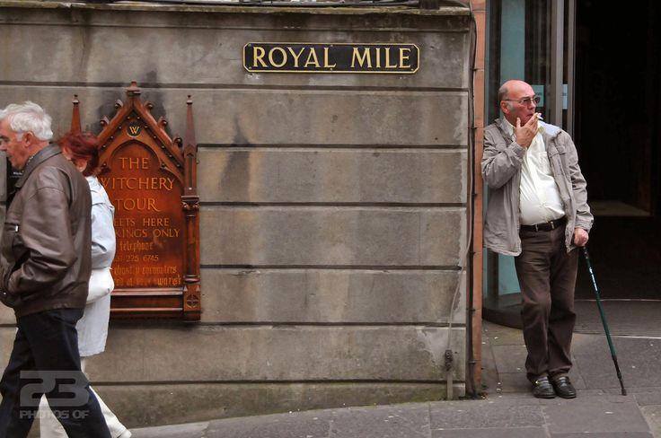 The Royal Mile Smoker photo | 23 Photos Of Edinburgh