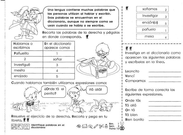 52 best Educacion Primaria images on Pinterest | Educacion primaria ...