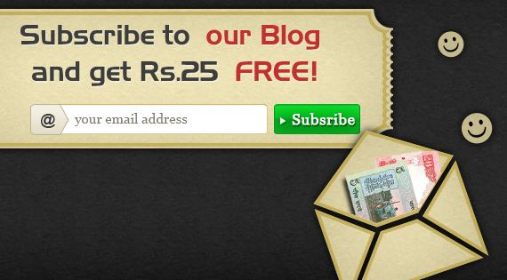 Very Good Way To Get Money!!! Just you have to Subscribe our Blog & you will Get Rs.25/- Free Cash   For more info visit >>> http://blog.classicrummy.com/rummy-free-cash-offer/subscribe-to-blog-get-rs-25-free-cash?link_name=CR-12
