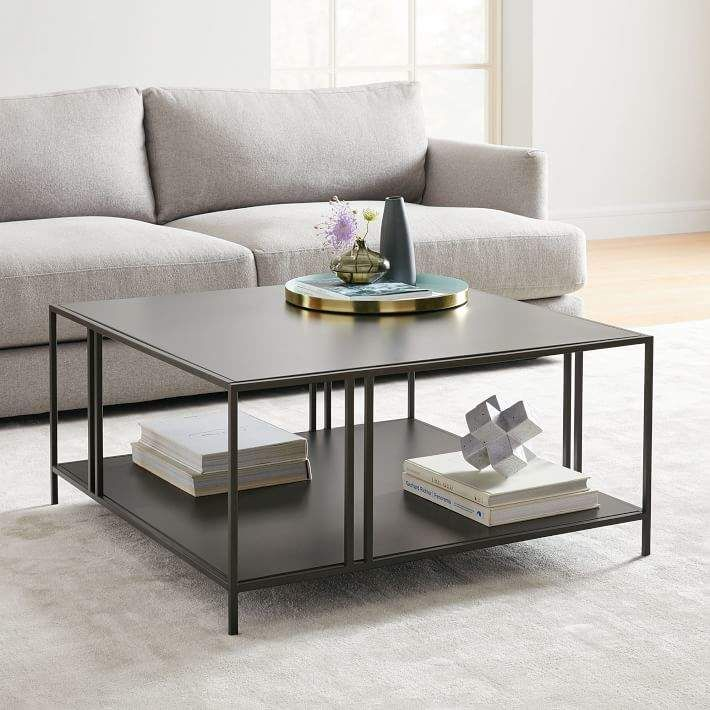 Profile Square Coffee Table In 2020 With Images Coffee Table