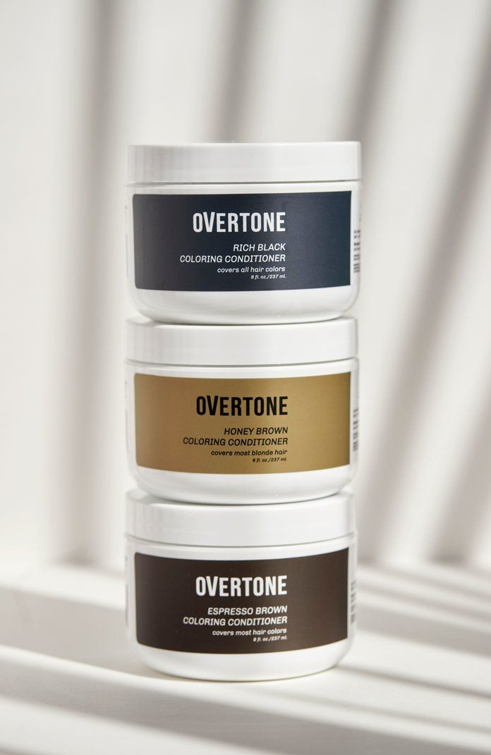Overtone Launches Coloring Conditioners In Natural Shades Hair Color Conditioner Overtone Hair Color Conditioner