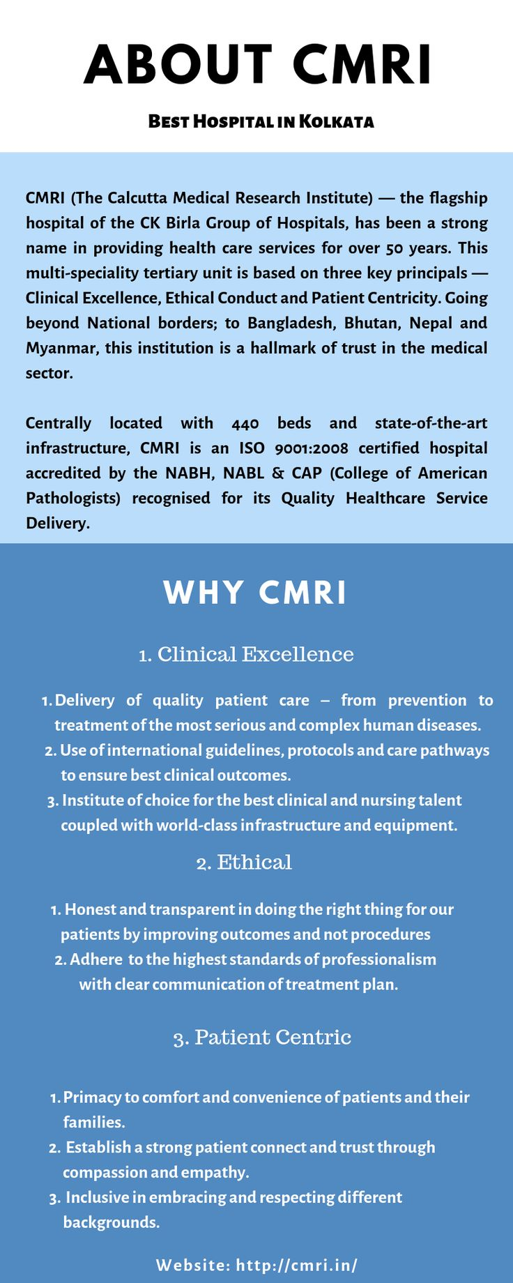 CMRI provides comprehensive, seamless and integrated