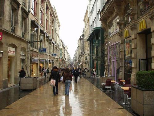 Bordeaux, France - Rue St. Catherine