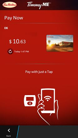 Clearbridge Mobile and Tim Hortons – First to Tap & Pay with NFC
