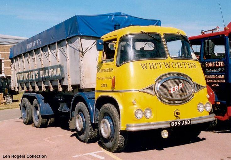 ERF 8 wheeler tipper lorry - Google Search