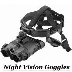 Need to see in the dark? Then these super cool and top quality Night Vision Goggles are exactly what you need! Perfect for hunting, hiking, camping - or spying.