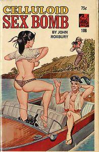 Ebay Item: Vintage Sleaze PB Paperback  Celluloid Sex Bomb ENEG Gene Bilbrew Satan Press