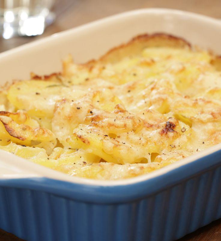 Kartoffelgratin - einfach und schnell