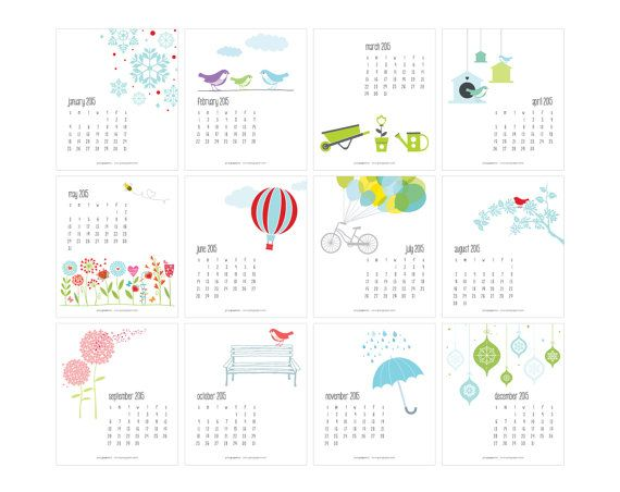 April Calendar Illustration : Best images about calendar on pinterest free