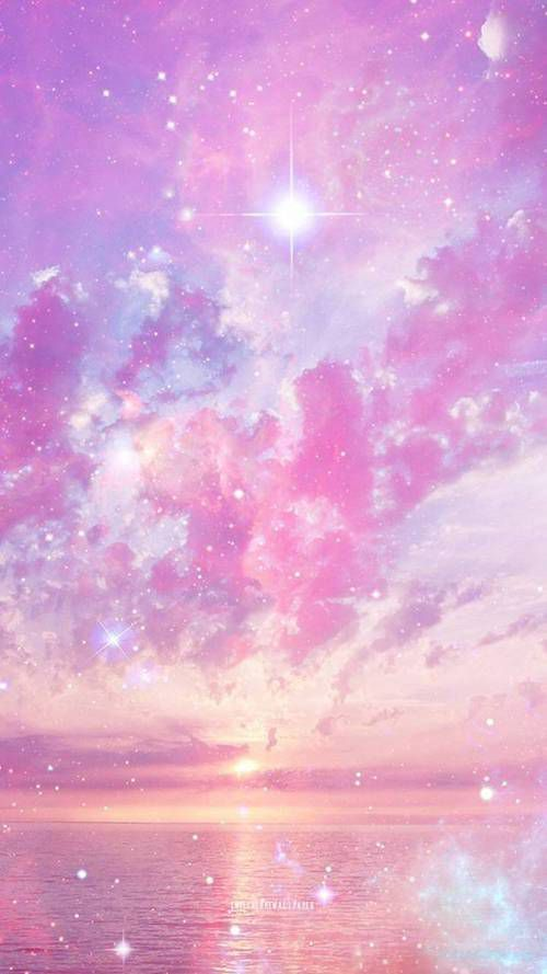 Unicorn S Book Iphone Wallpaper Sky Pink Clouds Wallpaper Galaxy Wallpaper Iphone
