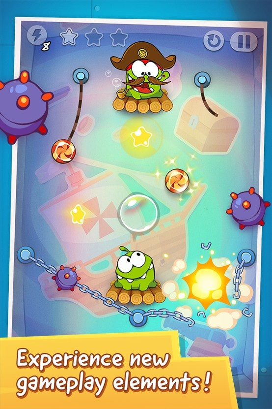Cut the Rope: Time Travel * iPhone or iPod touch: http://itunes.apple.com/app/id608899141 * iPad:  http://itunes.apple.com/app/id608901634 * Google Play: http://play.google.com/store/apps/details?id=com.zeptolab.timetravel.paid.google #cuttherope #time #travel #omnom #cute #green #little #monster #love #yummy #candy #sweets #playing #play #mobile #game #games #phone #fun #game #happy #funny #face #eyes #smile #nice http://cuttherope.net