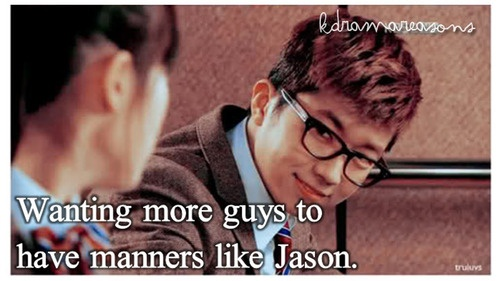 Dream High....oh how I wish there were more Jasons in the world