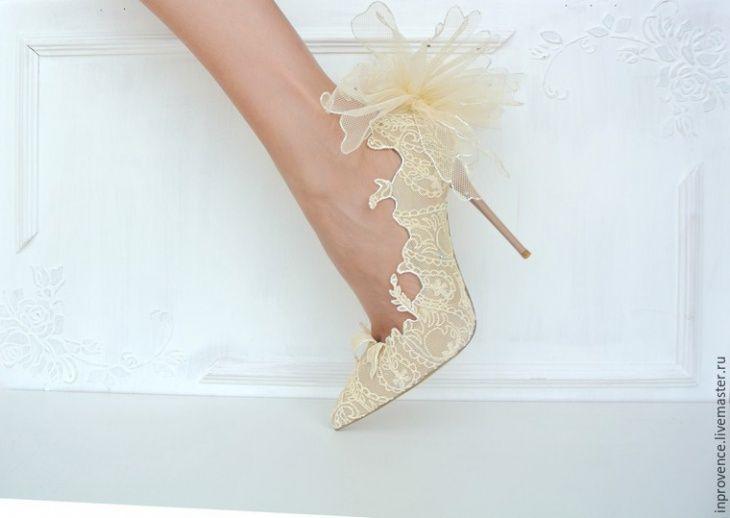 Свадебные туфли своими руками (Diy) / Свадебные платья и идеи для свадьбы / ВТОРАЯ УЛИЦА