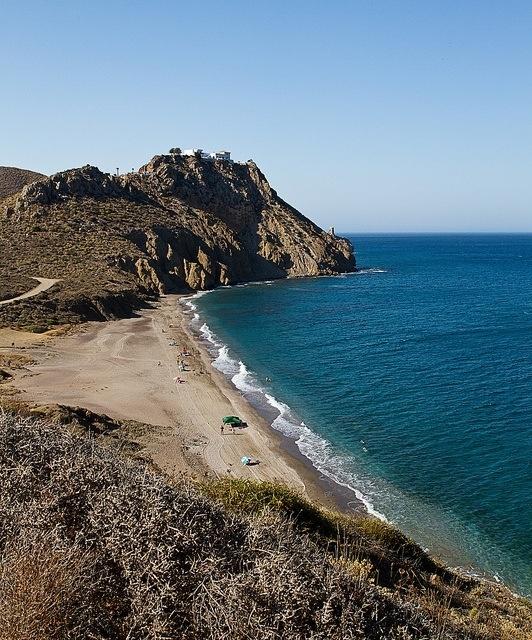 Playa del Pirulico, Cabo de Gata, Almeria
