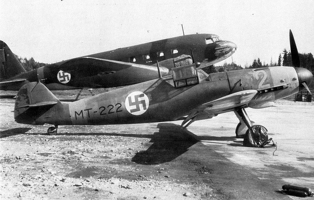 Finish Bf-109G2-FAF-1& DC-3 in 1943.