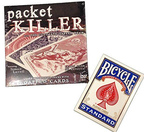 Packet Killer 45 Tricks with Special Bicycle Deck >>> See this great image @