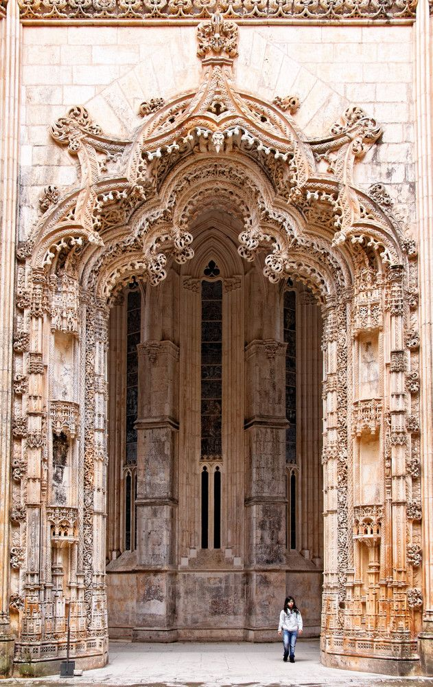 Mosteiro da Batalha, Portugal. Built in 1385. (Portogallo)