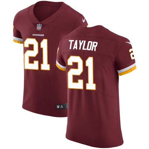 New Nike Redskins #21 Sean Taylor Burgundy Red Team Color Men's Stitched  free shipping