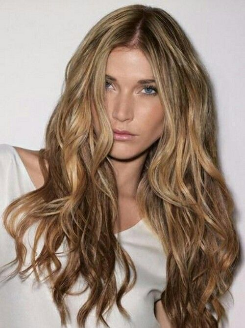 Blond waves